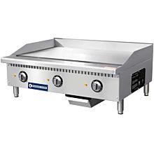 """Standard Range SR-EG36 36"""" Commercial Electric Thermostatic Countertop Griddle, 208-240V"""