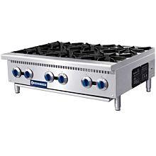 "Standard Range SR-HP36-M 36"" 6 Burner Hotplate - 150,000 BTU"