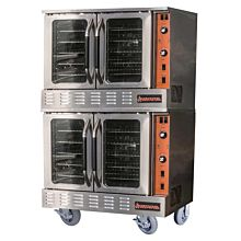 "Sierra SRCO-2E 38"" Double Deck Full-Size Electric Convection Oven"