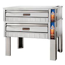 "Sierra SRPO-48G-2 48"" Gas Freestanding Double Deck Pizza Oven, 132,000 BTU"