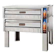 "Sierra Range SRPO-72G-2 72"" Pizza Deck Oven w/ 220,000 BTU (Gas Model)"