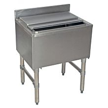 stainless steel ice bin with lid