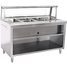 """Steam Table CWS120 120"""" 9 Wells, Gas"""