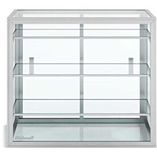 "Custom Glass 3 Shelves 24"" Countertop Straight Glass Food Display Case, Dry with 3 Shelves"