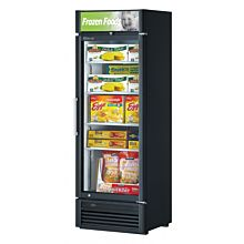 "Turbo Air TGF-15SD-N 26"" One Glass Swing Door Super Deluxe Merchandiser Freezer - 13.2 Cu. Ft."