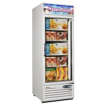 "Turbo Air TGF-23F-N 27"" One Glass Swing Door Merchandiser Freezer - 17.7 Cu. Ft."