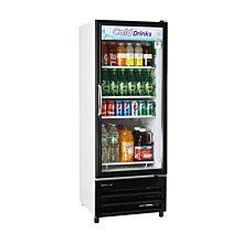 "Turbo Air TGM-11RV-N6 24"" One Glass Swing Door Merchandiser Refrigerator - 10.0 Cu. Ft."