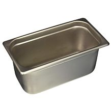 "Prepline PFP-13-6 1/3 Size Stainless Steel Steam Table / Hotel Pan, 6"" Deep"