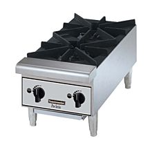Toastmaster TMHP2 Gas 2 Burner Countertop Hot Plate