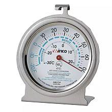 Winco TMT-RF2 Refrigerator / Freezer Dial Type Thermometer