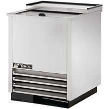True T-24-GC-S 1 Section Glass Chiller with 90 Mug Capacity, Stainless, 115v