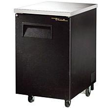 """True TBB-1-HC 24"""" (1) Section Bar Refrigerator Swinging Solid Door, 115v"""
