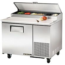 """True TPP-44 44"""" Pizza Prep Table with Refrigerated Base, 115v"""