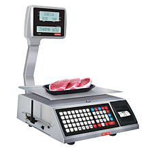 Tor Rey W-LABEL40L 40 lb. Price Computing Scale, Thermal Label Printer, Wifi, Legal For Trade