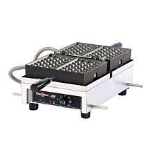 """Krampouz WECDHAAS 4"""" x 7"""" Liege-Style Single Belgian Waffle Maker"""
