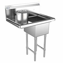 1 Compartment Sink Left Drainboard