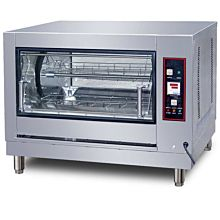 "40"" Gas 16 Chicken Batch Rotisserie Oven, 220V"