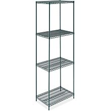 "Epoxy Green Wire 24"" x 24"" NSF Shelving Kit"