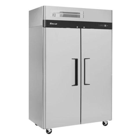 Turbo Air M3R47-2-N Solid Door Reach-In Refrigerator