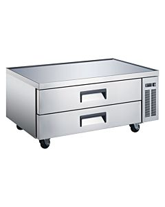 "Coldline CB48 48"" Two Drawer Refrigerated Chef Base Equipment Stand"