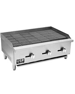 "36"" char broiler from USR Cookline"