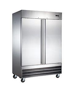 """Coldline CFD-2RR 54"""" Double Solid Door Reach-In Refrigerator - 47 Cu. Ft."""