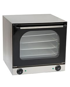 "23"" Single Deck Electric Countertop Convection Oven, 220-240V"