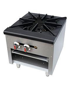 "CSP1 18"" Single Burner Countertop Gas Stock Pot Range"