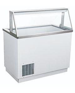 """Coldline DPC46 47"""" Ice Cream Dipping Cabinet - (8) Tub Capacity"""