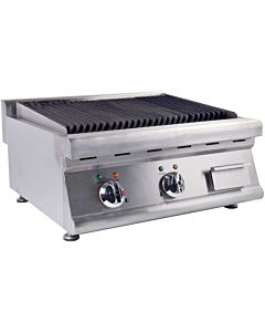 "Cookline LG-02-E 25"" Electric Lava Rock Charbroiler - 7200W"
