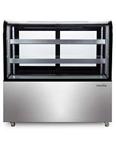 "Marchia MB48 48"" Refrigerated Bakery Display Case - Front View"