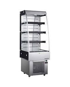 Marchia MDS250 Open Refrigerated Display Case, Grab and Go