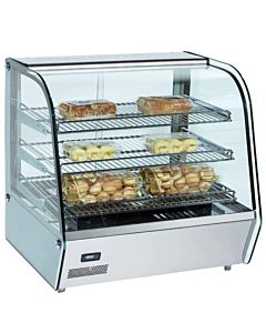 "Marchia MHC120 28"" Heated Countertop Display Case"