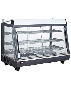 "Marchia MHCC136 36"" Heated Countertop Display Front, Rear Doors"