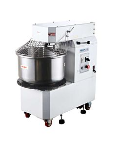 Prepline HTD20B 20 Quart Heavy-Duty Rising Head Spiral Mixers with Timer - 220V, 2 HP