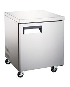 "Coldline UUC27F 27"" Undercounter Work Top Freezer - 6.3 Cu. Ft."