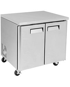 "TUC36F-HC 36"" Undercounter Work Top Freezer"