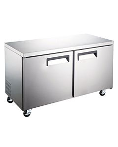 "Coldline TUC48F-HC 48"" Undercounter Work Top Freezer - 12 Cu. Ft."