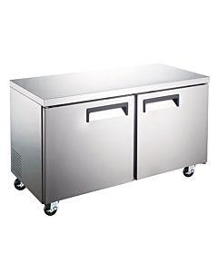 """Coldline TUC60R-HC 60"""" Undercounter Worktop Refrigerator - 15 Cu. Ft."""