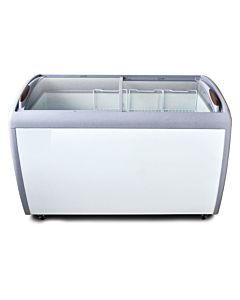 "Coldline XS360 50"" Glass Top Chest Freezer- 13 cu. ft."