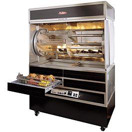Old Hickory N7 7g 56 Chicken Rotisserie Oven Machine Gas