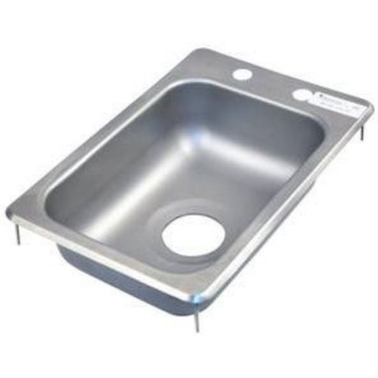 Bk Resources Bk Dis 1014 5d Drop In Stainless Steel Hand Sink 10 Inch Kitchenall New York