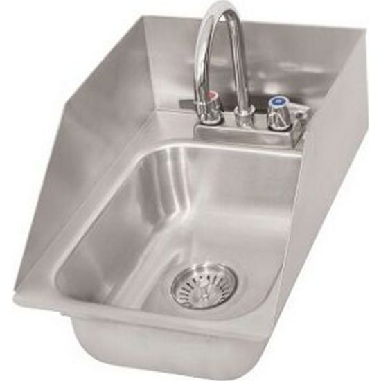 Ddi 1014524s P G Drop In Sink 1 Compartment 12 62 W With Faucet B Kitchenall New York