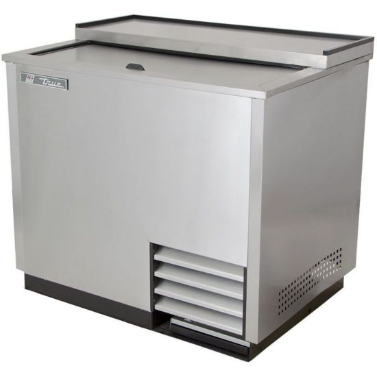 True T-36-GC-S 1 Section Glass Chiller with 180 Mug ...