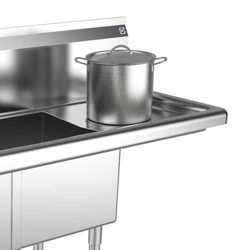 Convenient Right Side Drainboard