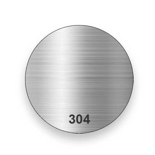 304 Stainless Steel Construction