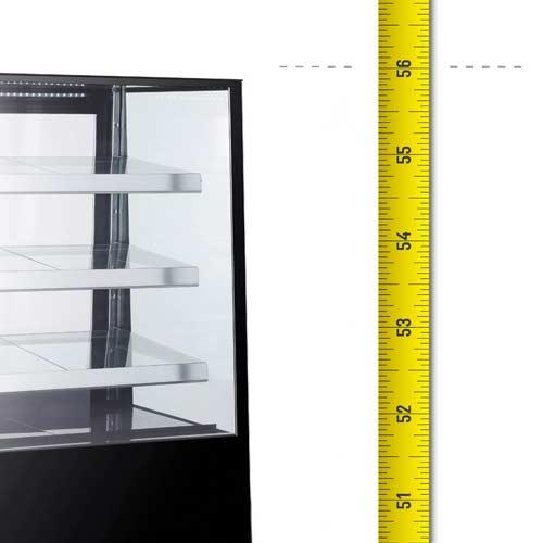 3 Shelves High