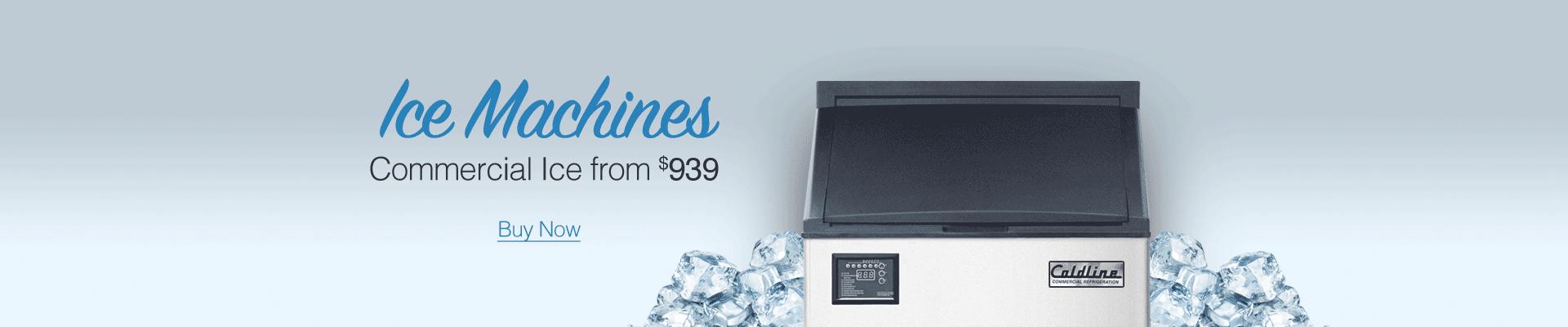 Coldline Commercial Ice Machines