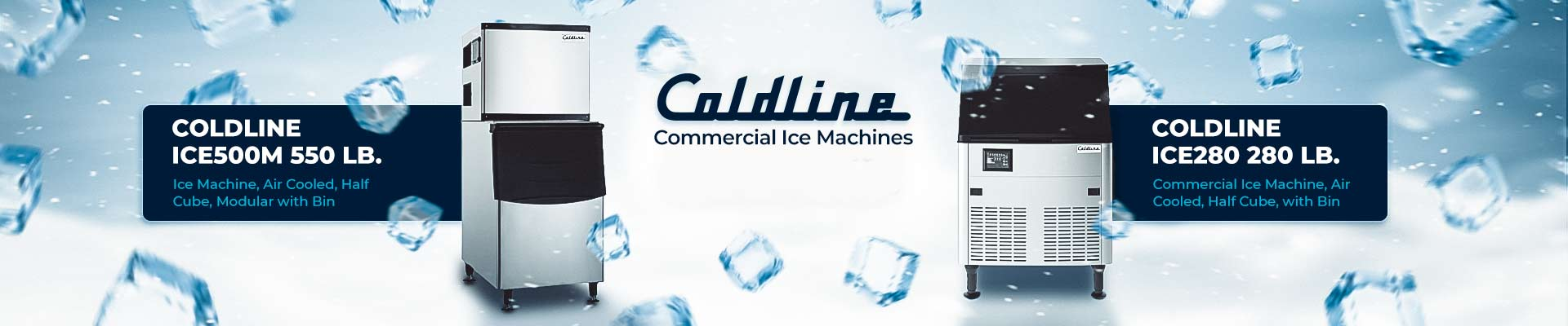Coldline Commercial Ice Makers