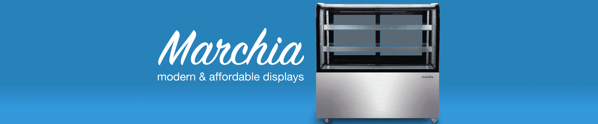 Marchia Bakery Display Cases